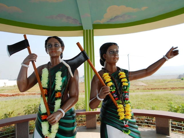 Phulo and Jhano Murmu tribal heroines of 1855 Santal Revolution